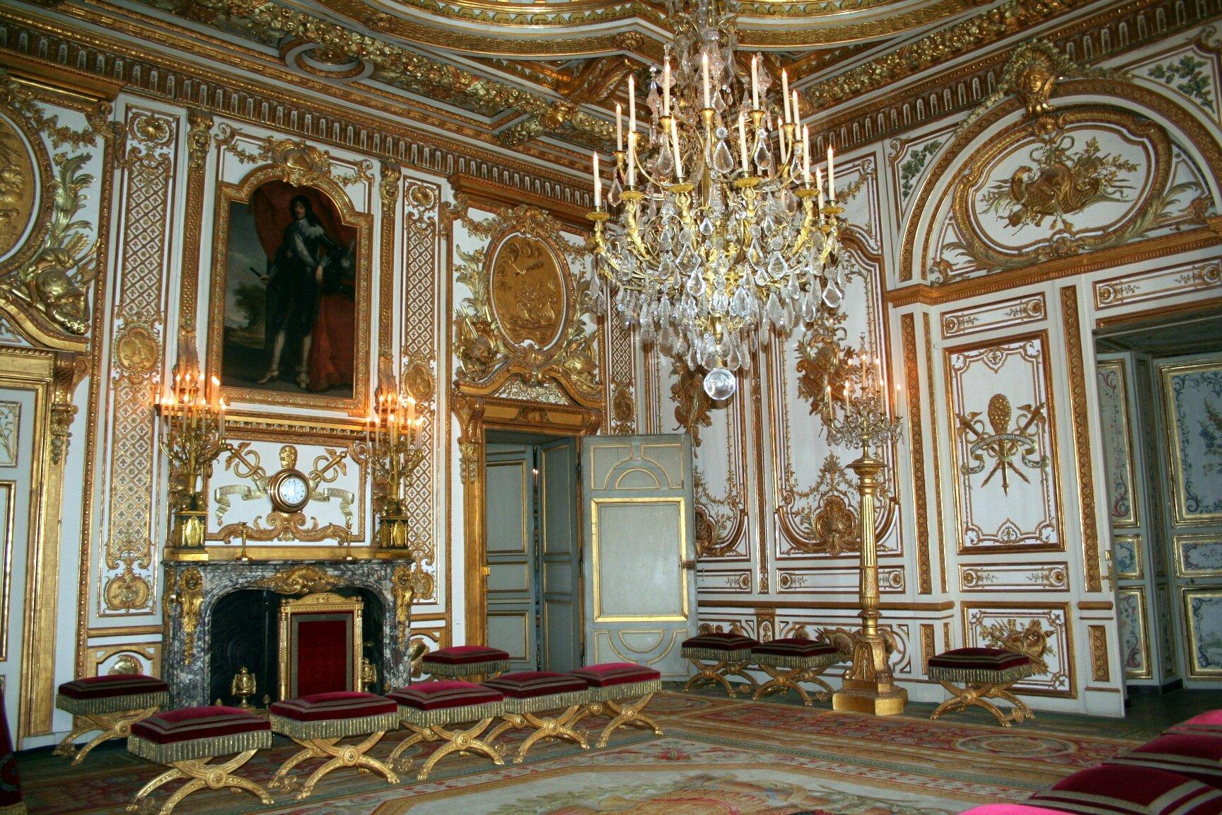 Ch teau de fontainebleau un des plus beaux manouedith et for Chambre louis xvi versailles