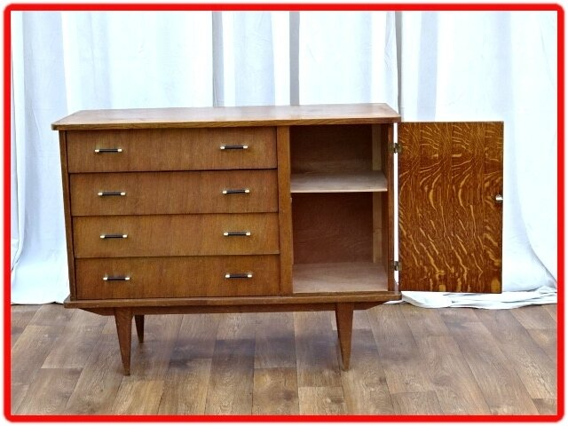 commode buffet vintage 1950