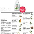 Emergency spray, la super promo du mois de mars