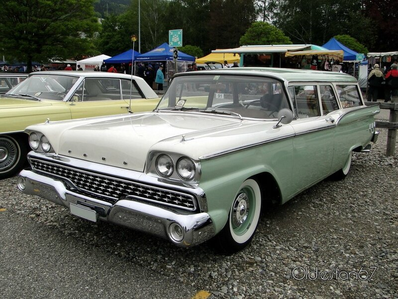 ford ranch wagon 2door 1959 a