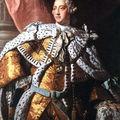 Le roi Georges III (règne de 1760 à 1820)