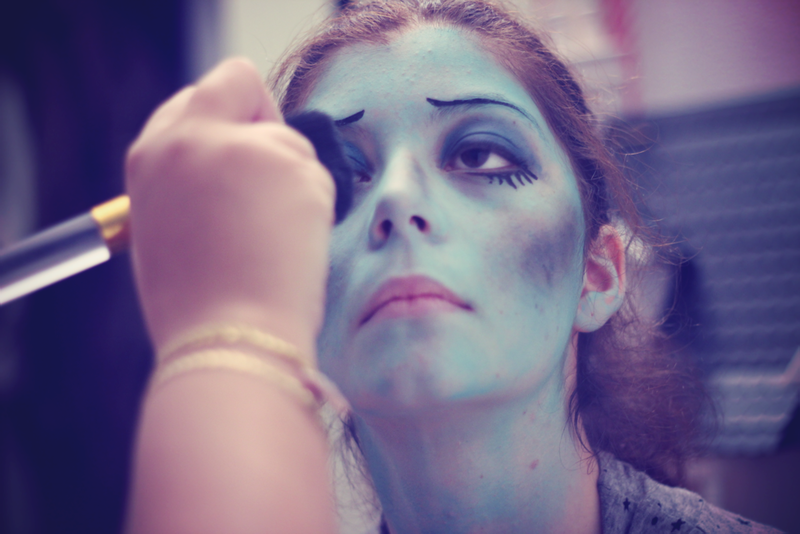Corpse bride emily make up express