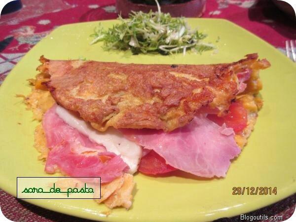 Mon omelette....
