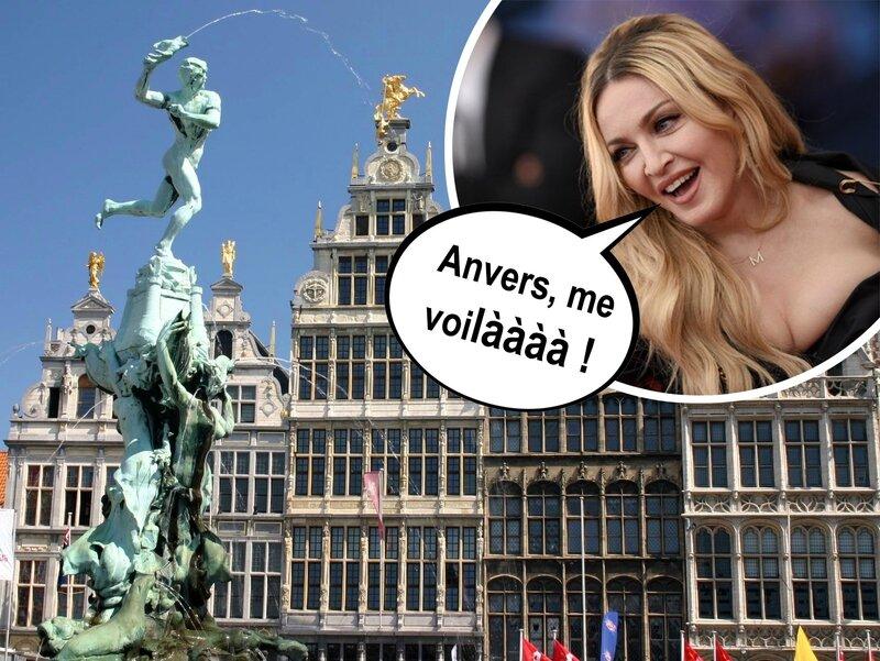 Madonna à Anvers : J'y étais !