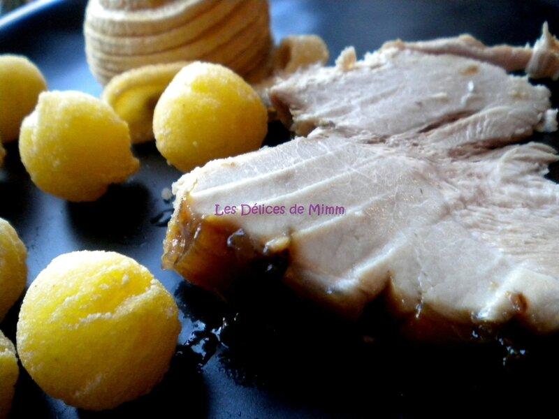 Jambon de cochon de lait laqué à l'érable 4