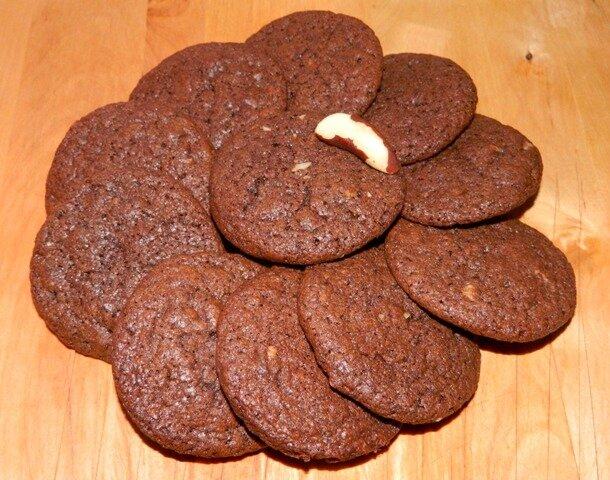 Cookies chocolat noix du Brésil