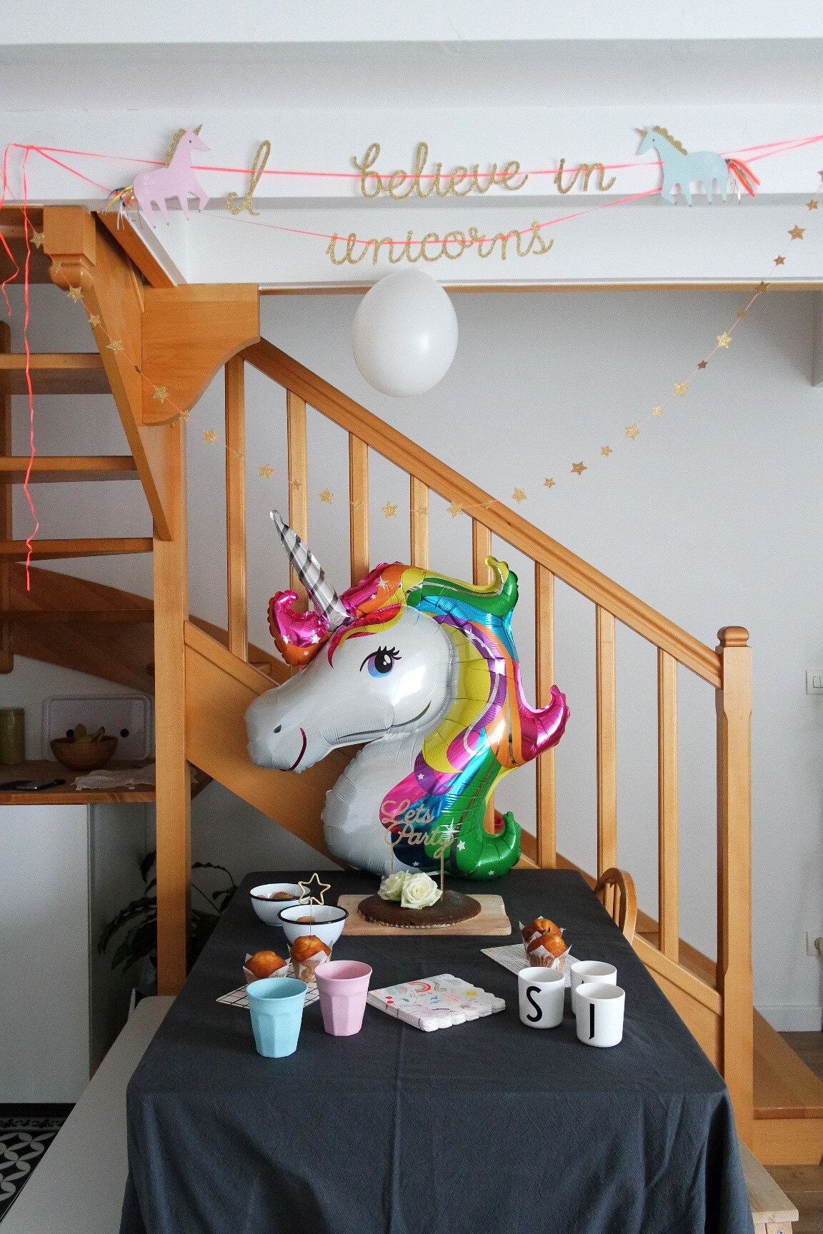 Unicorn party emilie sans chichi for Chambre unicorn
