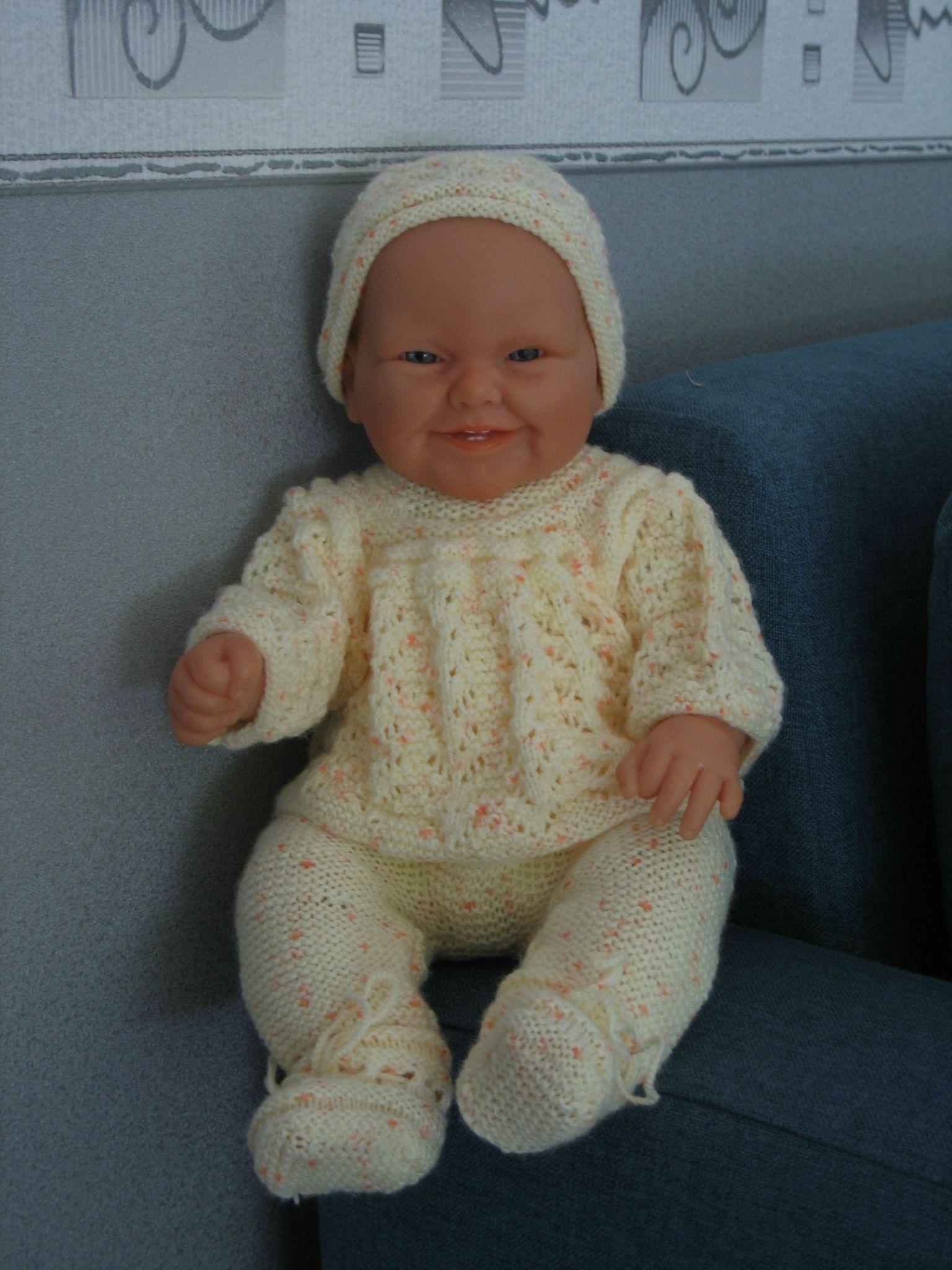Barboteuse pour bébé ( barboteuse bapteme garcon pas cher, comment tricoter
