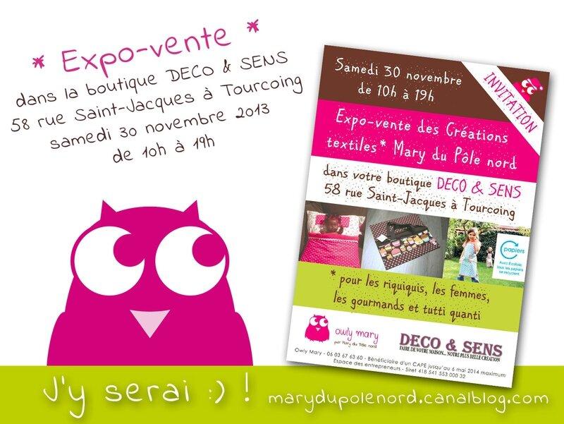 affiche-marche-noel-expo-vente-deco-et-sens-tourcoing-boutique-deco-magasin-decoration-lille-sortir-cadeaux-achats-owly-mary-du-pole-nord-marche-createur-noel-creation-artisanat