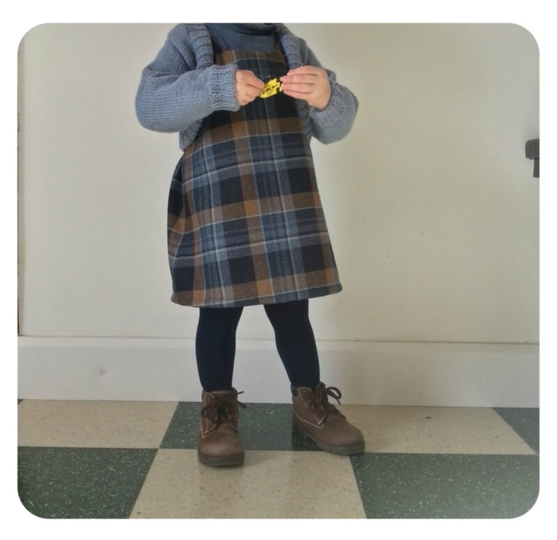 robe winter plaid (2)