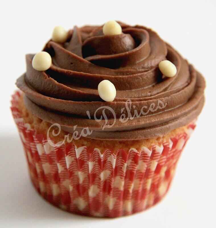 Cupcakes vanille-chocolat