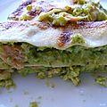 Lasagnes à la crème d'asperges vertes & au saumon fumé