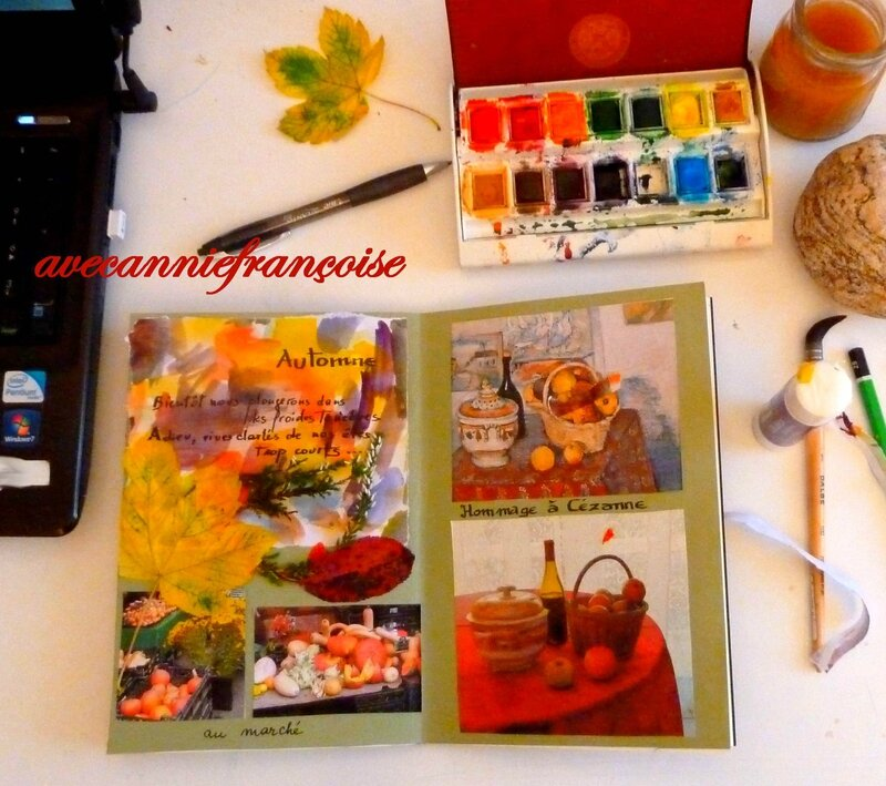 artjournal automne