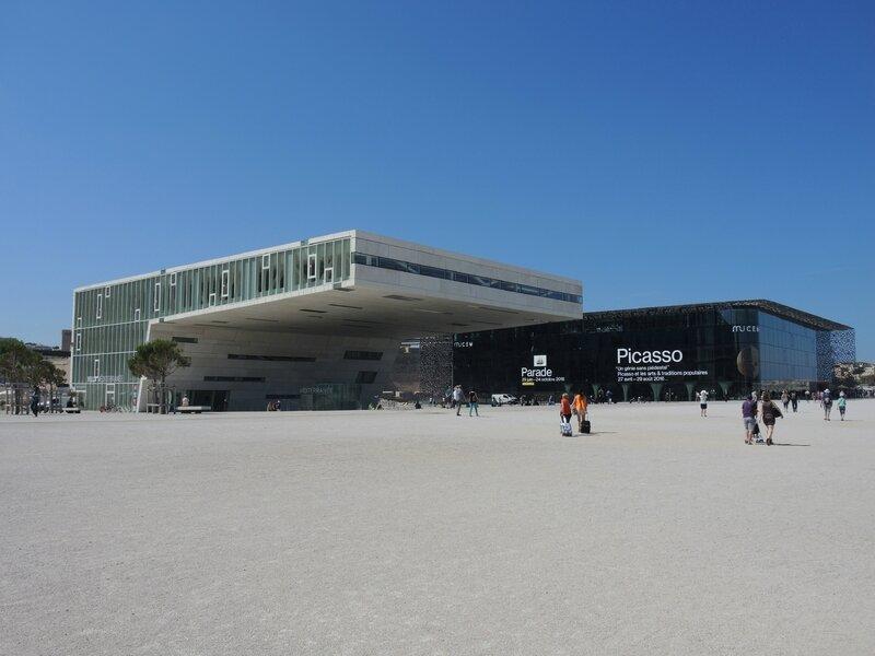 Marseille, le Mucem et esplanade 1 (13)