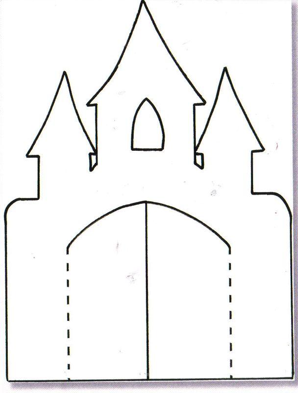 Maquette de chateau de princesse a imprimer for Image chateau princesse