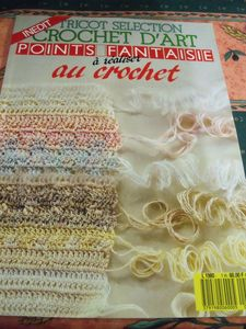 tricot selection crochet d art points fantaisies