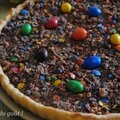 La tarte choco-m&m's