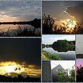Petit coin de ciel du lundi 28 août : mosaïque de nos ciels