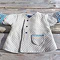 Petit manteau léger pour petit monsieur - intemporel