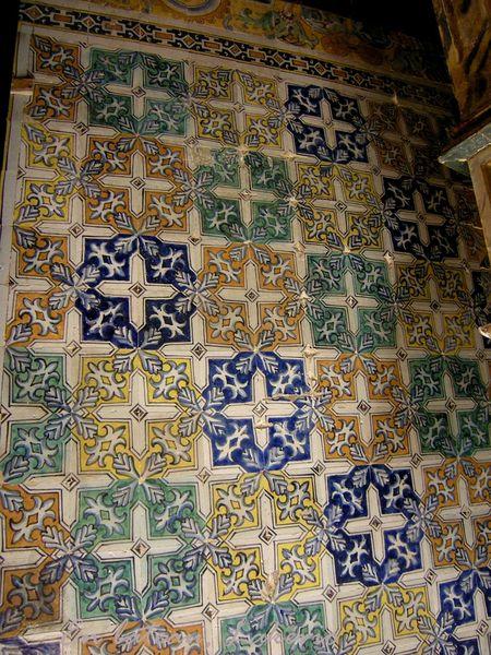 Seville azulejos Alcazar 2