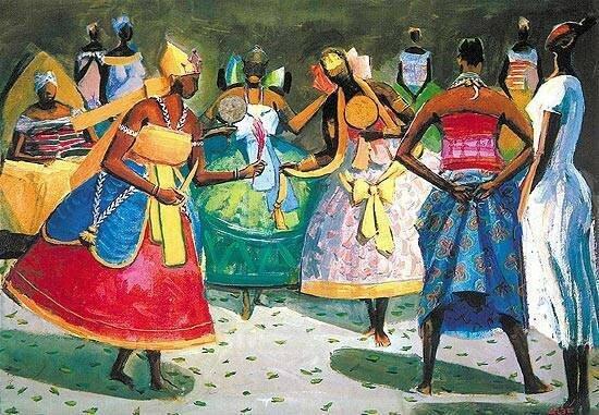 Visuel danseuses noires Mary Lou