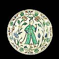 Iznik pottery @ bonhams