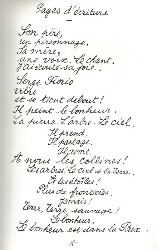 Pages d'écriture