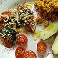 Filets de rouget barbet en persillade