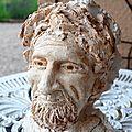 Sculpture deuxième visage: le tirage en plâtre