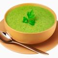 Soupe de cresson à la crème de coco