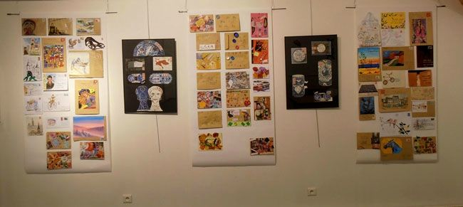 expo Mably mail art