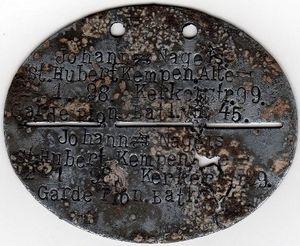 plaque_mod_le_1916_d_un_homme_du_Garde_Pionier_Bataillon