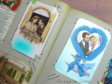 Cartes postales anciennes CPA Au pays des Cactus 5