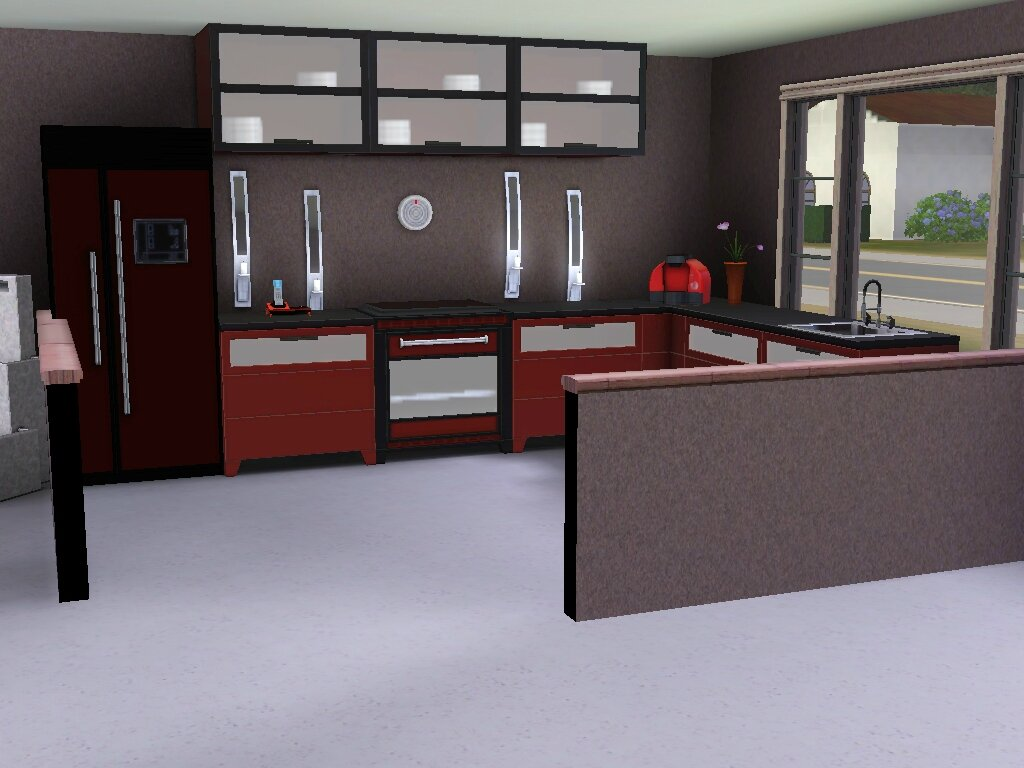 Modernia simmoblier l 39 agence immobili re des sims for Salon moderne sims 4