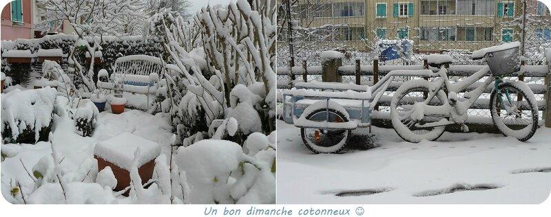 Quartier Drouot - Il a neigé