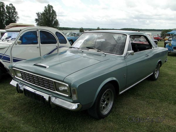 ford 20m p7a coupe 1967 a