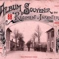 Album 68e Rgiment Infanterie 1911 