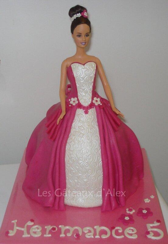 Gâteau Barbie #2