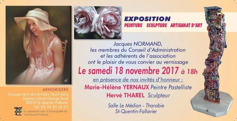 ARNORISÈRE 2017 INVITATION