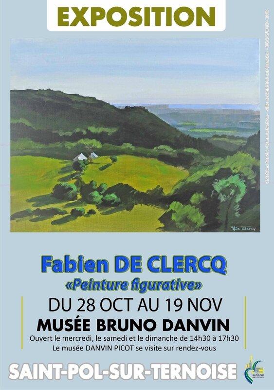 FABIEN expo octobre Affiche