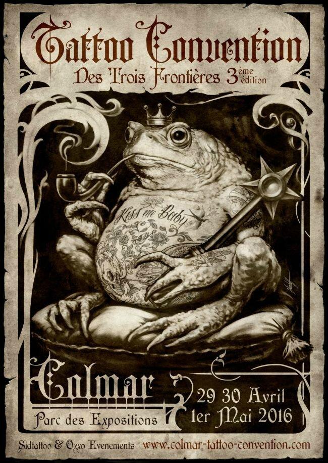 Colmar Tattoo Convention 29 Avril - 01 mai 2016