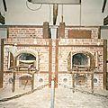 Dachau, le camp, fours crématoires (Allemagne)