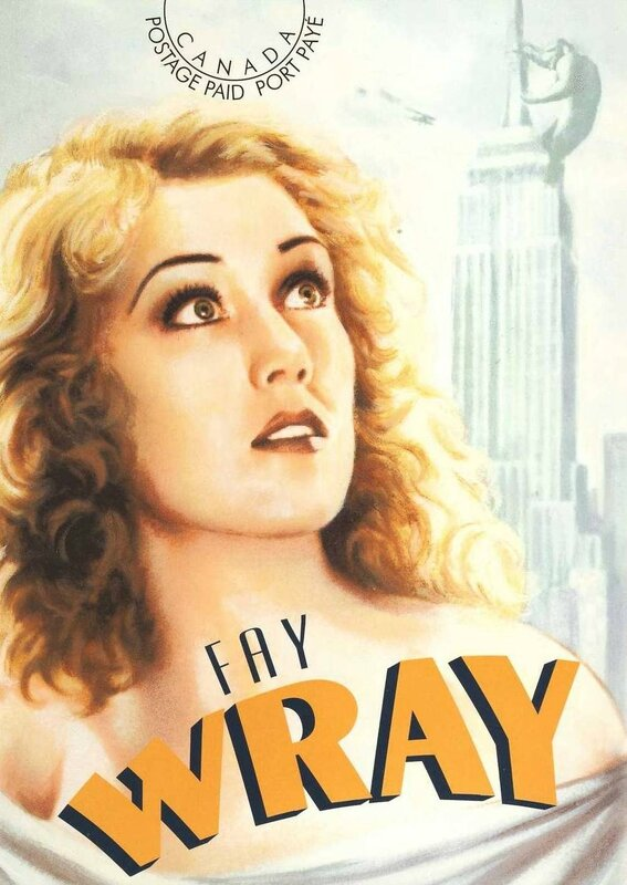 CPM Actrice Fay Wray