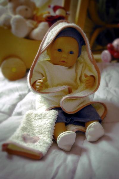 Accessoires pour poup e corolle la sortie de bain et le for Sortie enfant 78