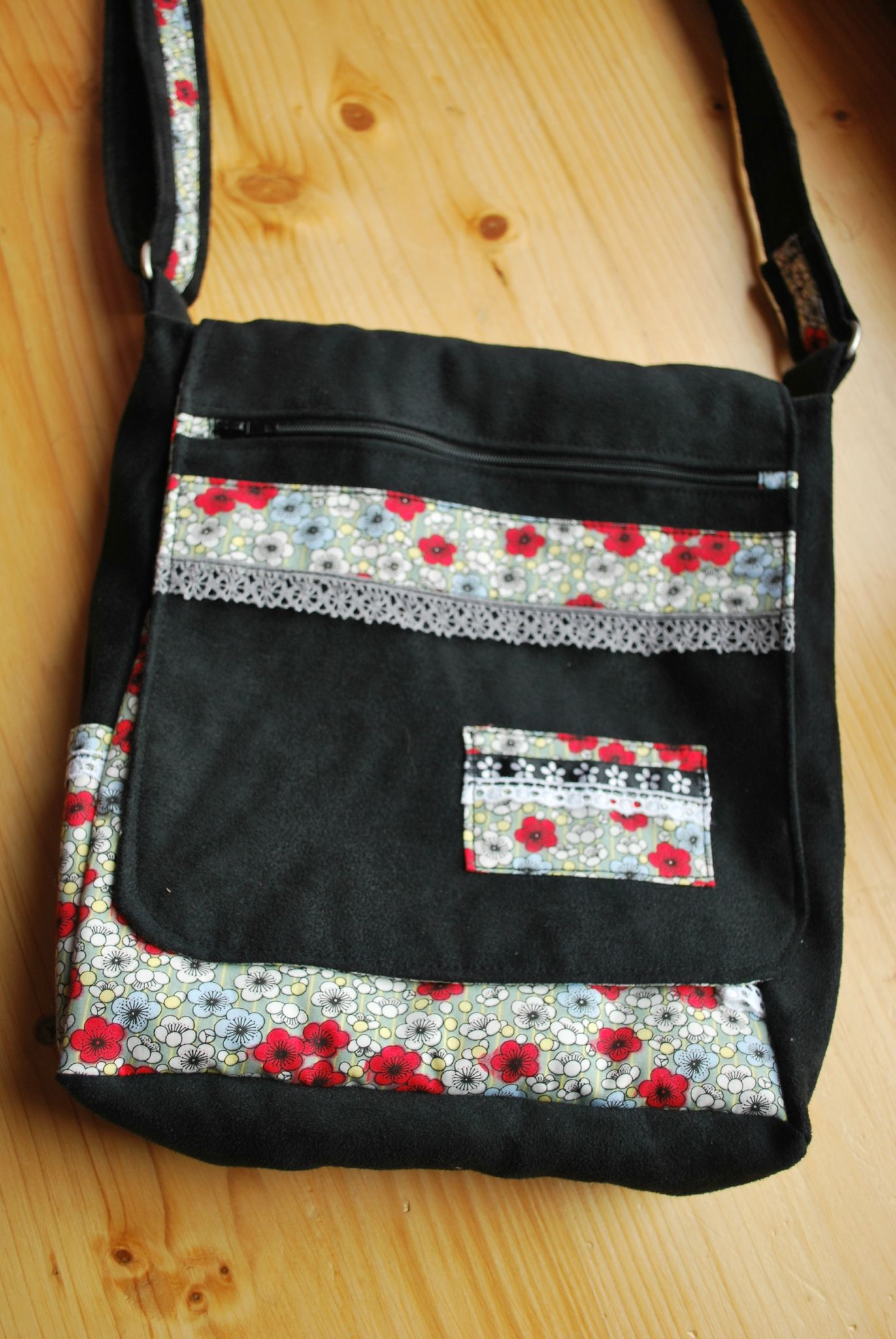 Modele sac besace couture - Tuto couture sac besace ...
