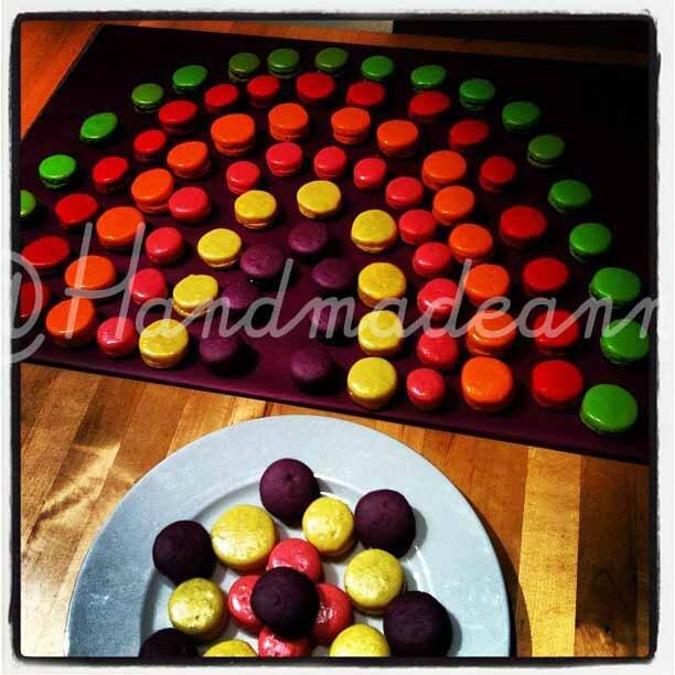 Macarons par Sophie