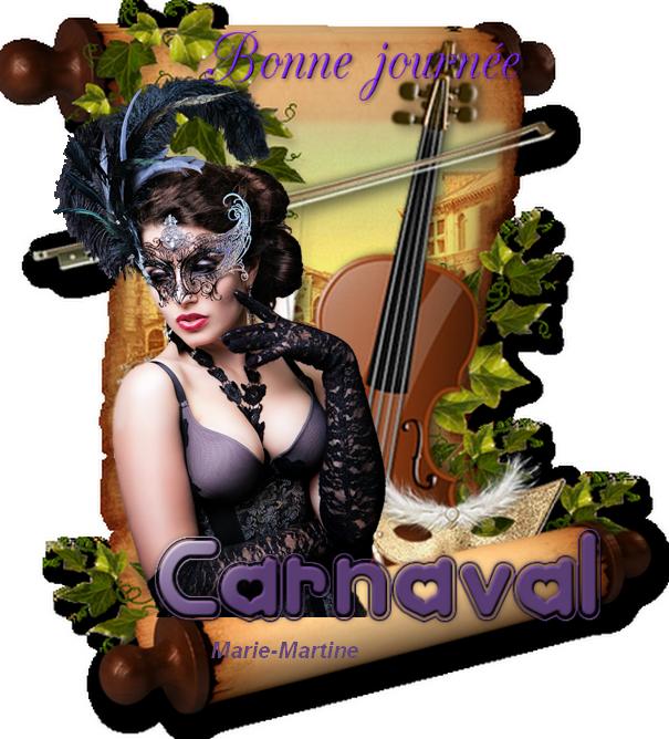 carnaval parchemin
