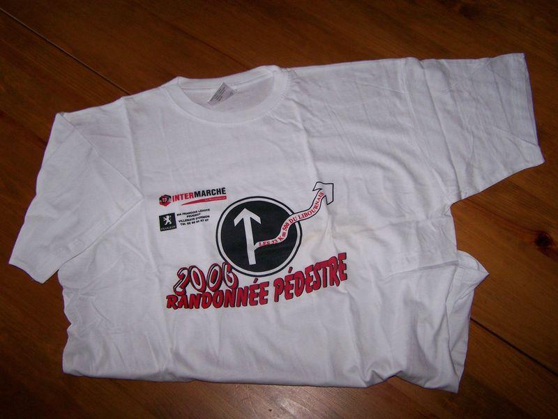 Tee shirt 2006