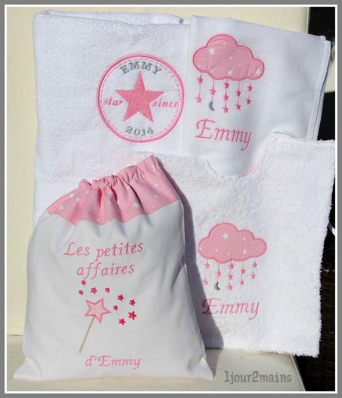kit naissance rose Emmy