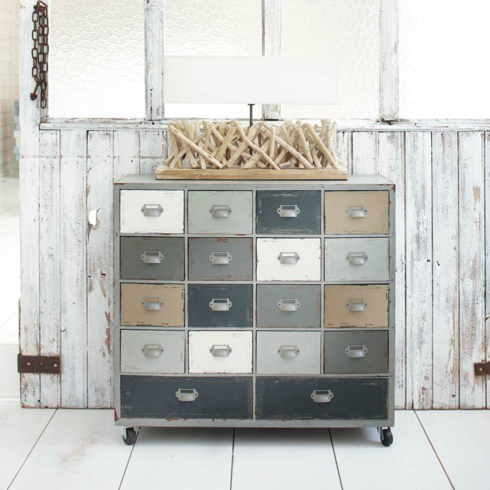 Coup de cabinet od on de maisons du monde deco trendy for Maison meuble